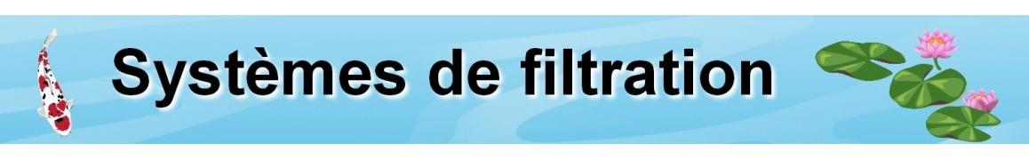 Filtre pour bassin de jardin, kit filtration